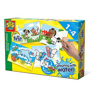 SES Creative Children My First Coloring Water Set Mixed Colours (14421)