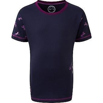 Mark Todd Childrens/Kids Unicorn Short-Sleeved T-Shirt