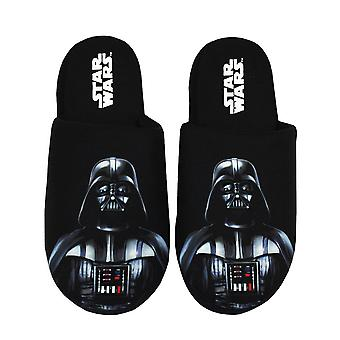Star Wars Men's Tossut Darth Vader Dark Side Polyester House Kengät
