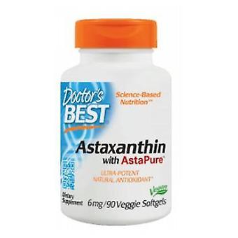 Doctors Best Astaxanthin, 6 mg, 90 Softgels
