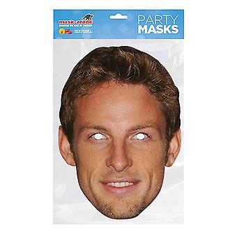 Mask-arade Jenson Button Party Mask