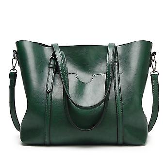 Women Shoulder Tote Purse Polyurethane Leather Handbags