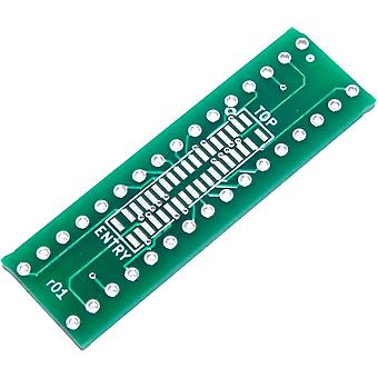 FPC-32 Top-Entry SFV-S to 32pin 2.54mm Connector Adapter Module