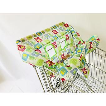 Infant Supermarket Grocery Shopping Cart Cover Baby Traveling Seat Pad Anti-dirty Cover