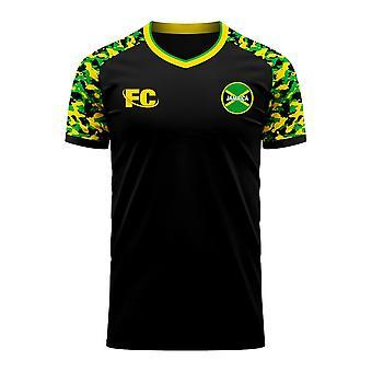 Jamaica 2020-2021 Away Concept Football Kit (Fans Cultuur)