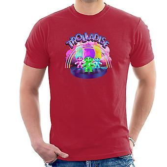 Trolls In Trolladise Men's T-paita