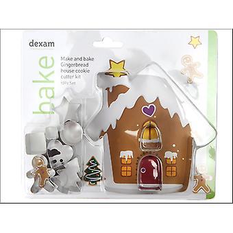 Dexam make + Bake Ingwer Brot Haus Kit 10 Stück 17848967