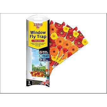 STV Window Fly Trap x 3 STV012/ZER012