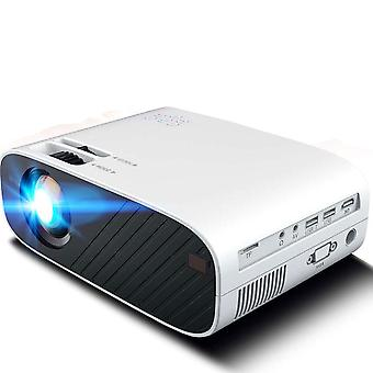 Portable Projector 4200Lumen Home Theater Outdoor Projector with 150'' Projection Screen,Compatible with TV Stick, HDMI