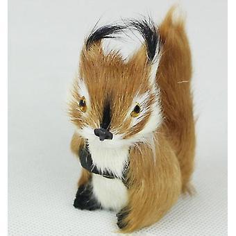 Blød udstoppet dyr, Simulation Fox Egern Legetøj