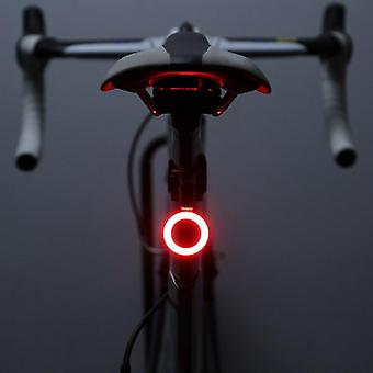 Multi Lighting Modes Bicycle Light Usb Charge Flash Tail Rear Mountains Bike