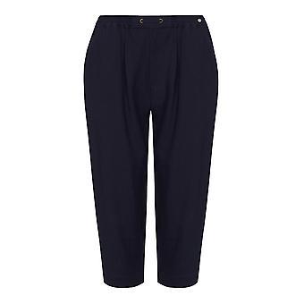 Pantalones recortados Arrugados de la Armada TIGI