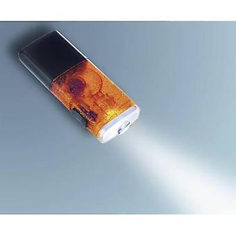 AccuLux Joker LED-LED (monokrom) mini lommelykt oppladbart 1 t 36 g