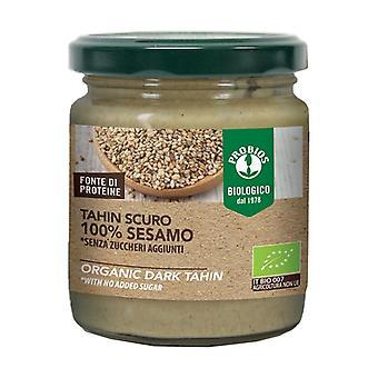 Dark cream 100% sesame - dark tahini 200 g of cream