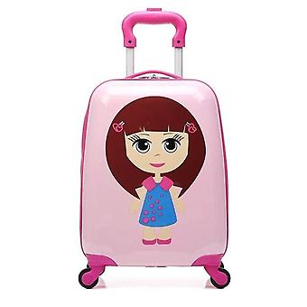 Carry-on Suitcase With Wheels Kids Spinner Luggage Travel Rolling Luggage