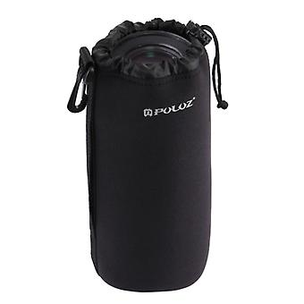PULUZ Neoprene SLR Camera Lens Carrying Bag with Hook for Canon / Nikon / Sony Cameras, Size XXL: 27cm x 10cm