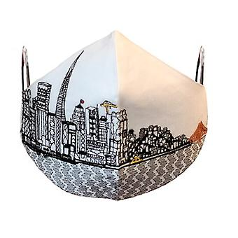 San Francisco Embroidered Skyline Fashionable Face