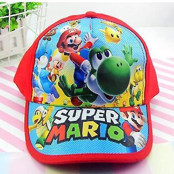 Chapeau de base-ball réglable de jeunesse de garçon de Super Mario, chapeau