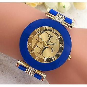 Fashion Black Geneva Casual Quartz Silicone Ure's/women Wrist Watch