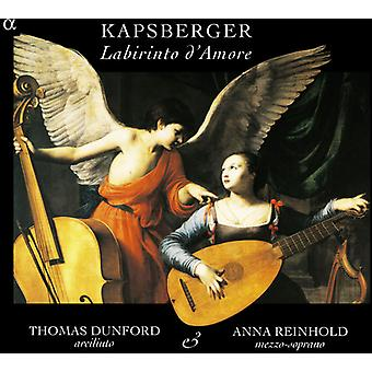 Kapsberger / Caccini / Strozzi - importar de USA Labirinto D'Amore [CD]
