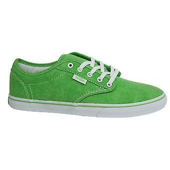 فانز أتوود قماش منخفضة الدانتيل حتى الأخضر النساء المدربين Plimsolls NJO6HB B38D