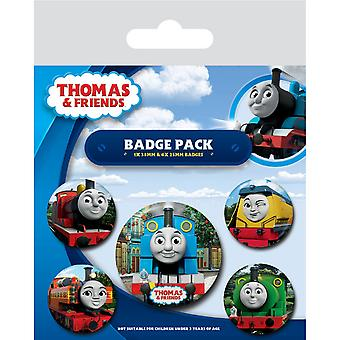 Thomas & Friends The Faces Of Sodor Badge Set (Pack Of 5)