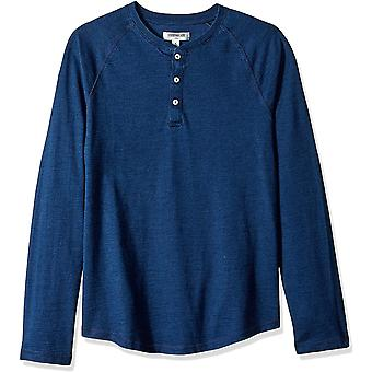 Brand - Goodthreads Men's Long-Sleeve Indigo Henley