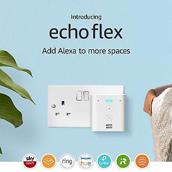 Esittelyssä echo flex 'Äì -ääniohjaus älykotilaitteet alexan avulla