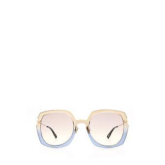 Dior DIORATTITUDE1 brown blue female sunglasses