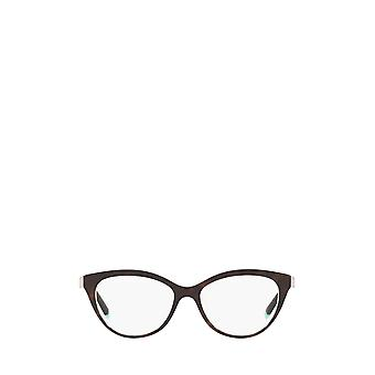 Tiffany TF2180 havana / crystal blue female eyeglasses