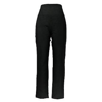 النساء مع التحكم Leggings سليم الساق التحكم بلو Tec الأسود A225789