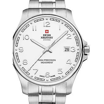 Reloj masculino militar suizo por Chrono SM30200.17, cuarzo, 39 mm, 5ATM