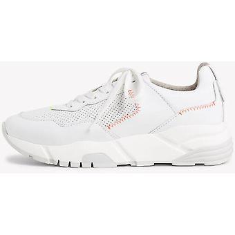 Scarpe piatte bianche