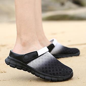 Summer Mesh Breathable Padded Beach Flip Flops  Bath Slippers/women
