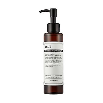 Black Deep Gentle Makeup Remover Oil 150 ml of oil