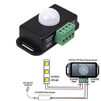 Automatic Adjustable Pir Motion Sensor Switch Ir Infrared Detector