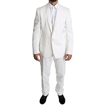White Single Breasted 2 Piece MARTINI Suit