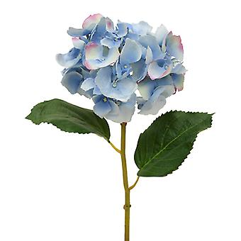 Sztuczna hortensja Deluxe Stem Flower 45 cm niebieski
