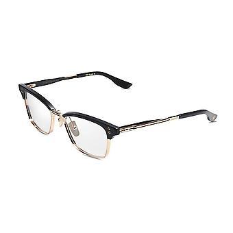 DITA Statesman Six DTX132 02 Matte Black-White Gold-Matte Black Glasses