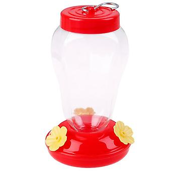 Plastica Bird Water Feeder Bottiglia appeso Hummingbird Feeder