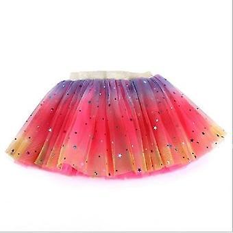 Φούστες Tutu- Πριγκήπισσα τυπωμένων υλών αστεριών, μπαλέτο Petti, χορεύοντας φούστα