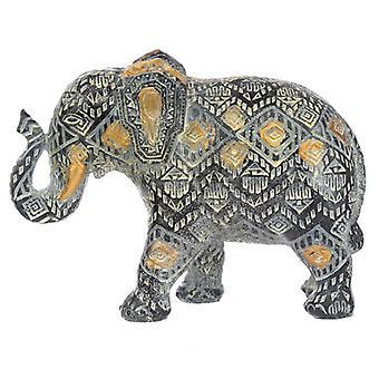 Dekorative thailandske geometriske lille elefant