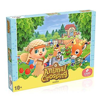 Animal Crossing 1000 piece Jigsaw Puzzle