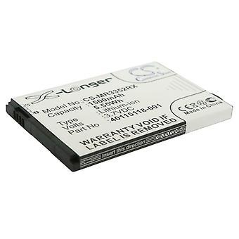 Akku Verizon Novatel Wireless 40115118.001 Hotspot 2235 MiFi 3352 1500mAh
