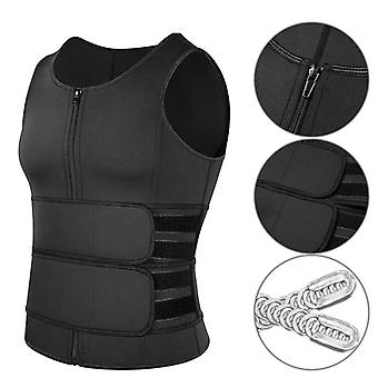 Body Shaper Waist Trainer, Gilet double ceinture, Sweat Shirt