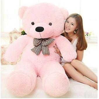Pink Stuffed Giant Teddy Bear Plush Toy Big Embrace Kids Doll Lovers/christmas Gifts Birthday Gift
