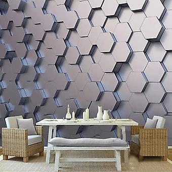 Geometric Murals Photo Wall Paper Sticker For Living Room Tv Background