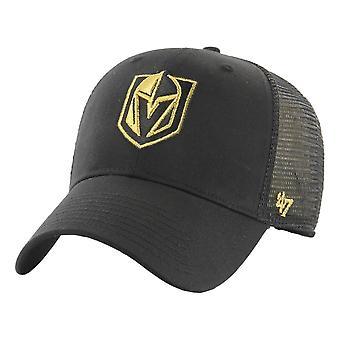 47 NHL Vegas Golden Knights Branson Metallic MVP Cap - Black