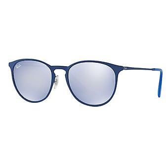 Ray-Ban Erika metalen blauwe Unisex zonnebril - RB3539-90221U-54