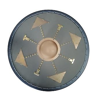 Wooden leather metal ornaments Scottish Targe shield SWE05